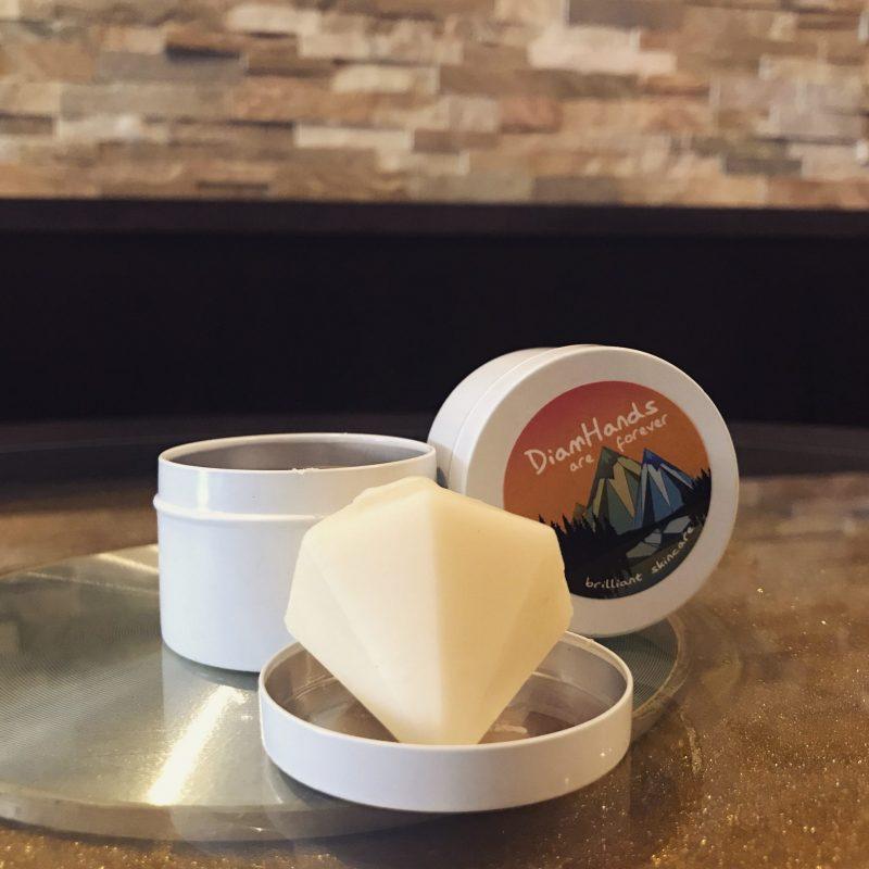 DiamHands lotion bar skincare